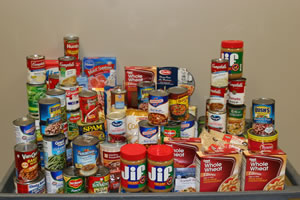 Food for troops